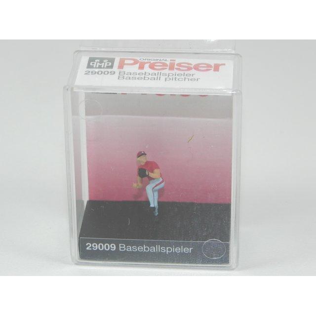 Preiser 29008 H0 Figuren Baseballspieler