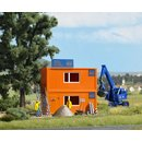 Busch 1036 Baustellen-Container H0