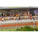 Faller 222111 N Moderner Bahnsteig mit Zubehör