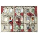 Preiser 16360 H0 Am Fenster.6 unbemalte Miniaturen inkl...