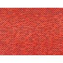 Auhagen 50504 1 Dekorpappe Ziegelmauer rot lose H0/TT