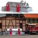 Busch 1158 BW-Tankstelle H0