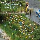 Busch 1229 Sommerblumen H0