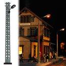 Busch 4130 Gittermast-Lampe H0